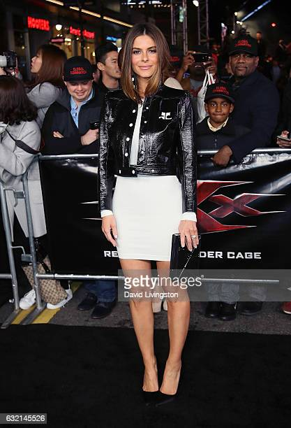 Actress Maria Menounos attends the premiere of Paramount Pictures' xXx Return of Xander Cage at TCL Chinese Theatre IMAX on January 19 2017 in...