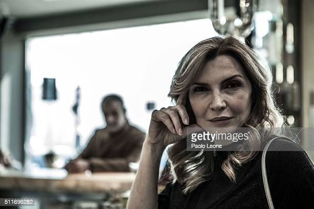 Actress Maria Pia Calzone is photographed for for Zoo Magazine on March 24 2015 in Rome Italy