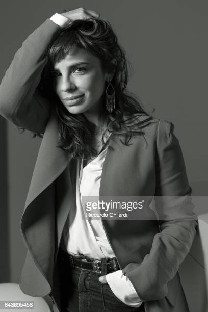 Actress Maria Ribeiro is photographed for Self Assignment on February 14 2017 in Berlin Germany
