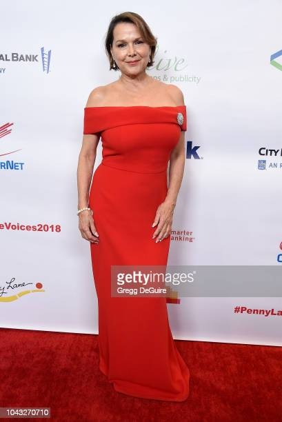 Actress Maria Richwine arrives at the 18th Annual Voices Of Our Children Fundraiser Gala And Awards at Lowes Hollywood Hotel on September 29 2018 in...