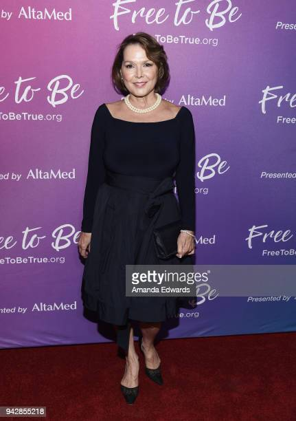 Actress Maria Richwine attends the premiere of the AltaMed Free To Be sexual health campaign at the Target Terrace Lounge on April 6 2018 in Los...