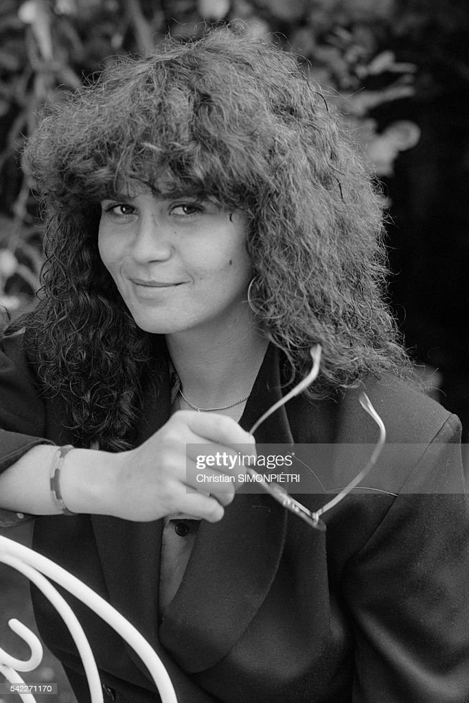 Actress Maria Schneider in Paris : News Photo