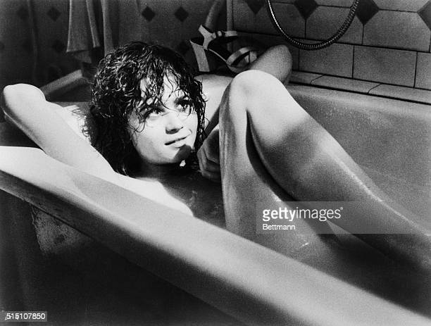 Actress Maria Schneider in scenes from the movie Last Tango in Paris written and directed by Bernardo Bertolucci