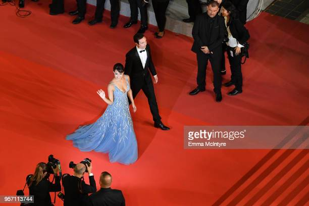 Actress Maria Thelma Smaradottir attends the screening of 'Arctic' during the 71st annual Cannes Film Festival at Palais des Festivals on May 10 2018...
