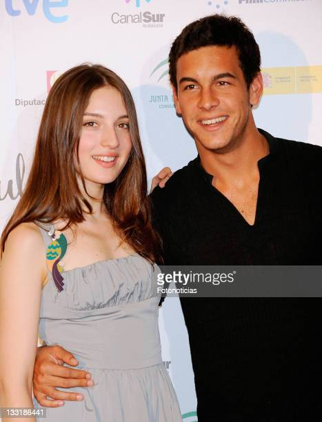 Actress Maria Valverde and actor Mario Casas attend the 'La Mula' photocall at Hotel de las Letras on July 3 2009 in Madrid Spain