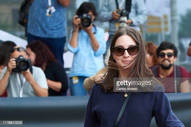 Actress Maria Valverde arrives at the Maria Cristina Hotel during the 67th San Sebastian International Film Festival on September 24, 2019 in San...