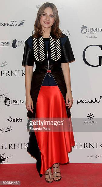 Actress Maria Valverde attends the 'Gernika' premiere at Palafox cinema on September 5 2016 in Madrid Spain