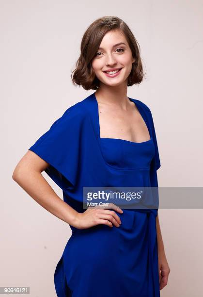 Actress Maria Valverde from the film 'Cracks' poses for a portrait during the 2009 Toronto International Film Festival at The Sutton Place Hotel on...