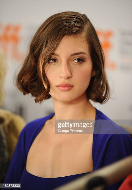 Actress Maria Valverde speaks onstage at the Cracks press conference held at the Sutton Place Hotel on September 12 2009 in Toronto Canada