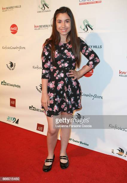 Actress Mariah Quintana attends the Santee High School Fashion Show at Los Angeles Trade Technical College on April 7 2017 in Los Angeles California