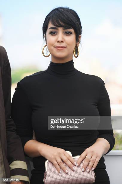 Actress Mariam Al Ferjani attends the Alaka Kaf Ifrit photocall during the 70th annual Cannes Film Festival at Palais des Festivals on May 19 2017 in...