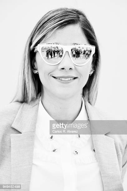 Actress Mariam Hernandez attends 'El Mejor Verano de mi Vida' photocall at the 21th Malaga Film Festival on April 21 2018 in Malaga Spain