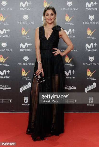 Actress Mariam Hernandez attends Feroz Awards 2018 at Magarinos Complex on January 22 2018 in Madrid Spain