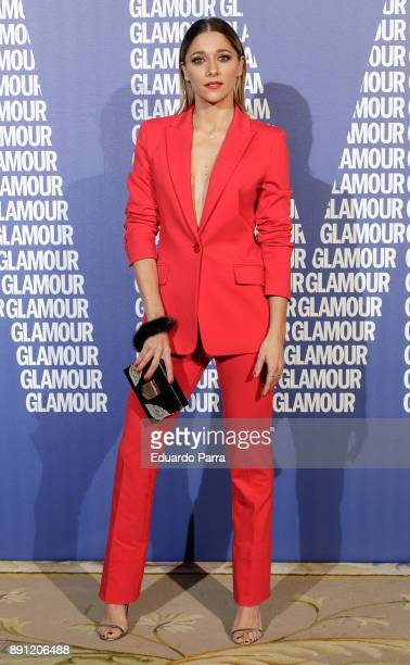 Actress Mariam Hernandez attends the Glamour Magazine Awards photocall at Ritz hotel on December 12 2017 in Madrid Spain