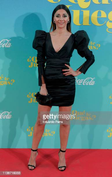 Actress Mariam Hernandez attends the Madrid Premiere of Que Te Juegas at Capitol cinema on March 27 2019 in Madrid Spain