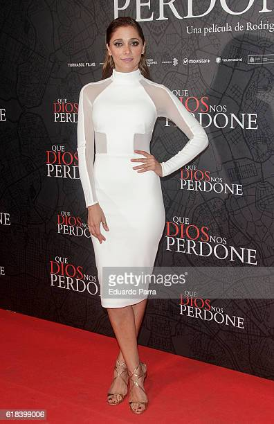 Actress Mariam Hernandez attends the 'Que Dios nos perdone' photocall at Capitol cinema on October 26 2016 in Madrid Spain