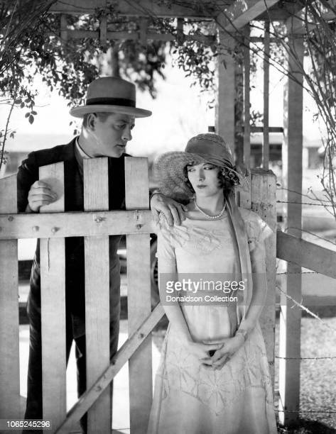 Actress Marian NixonReginald Denny in a scene from the movie Rolling Home