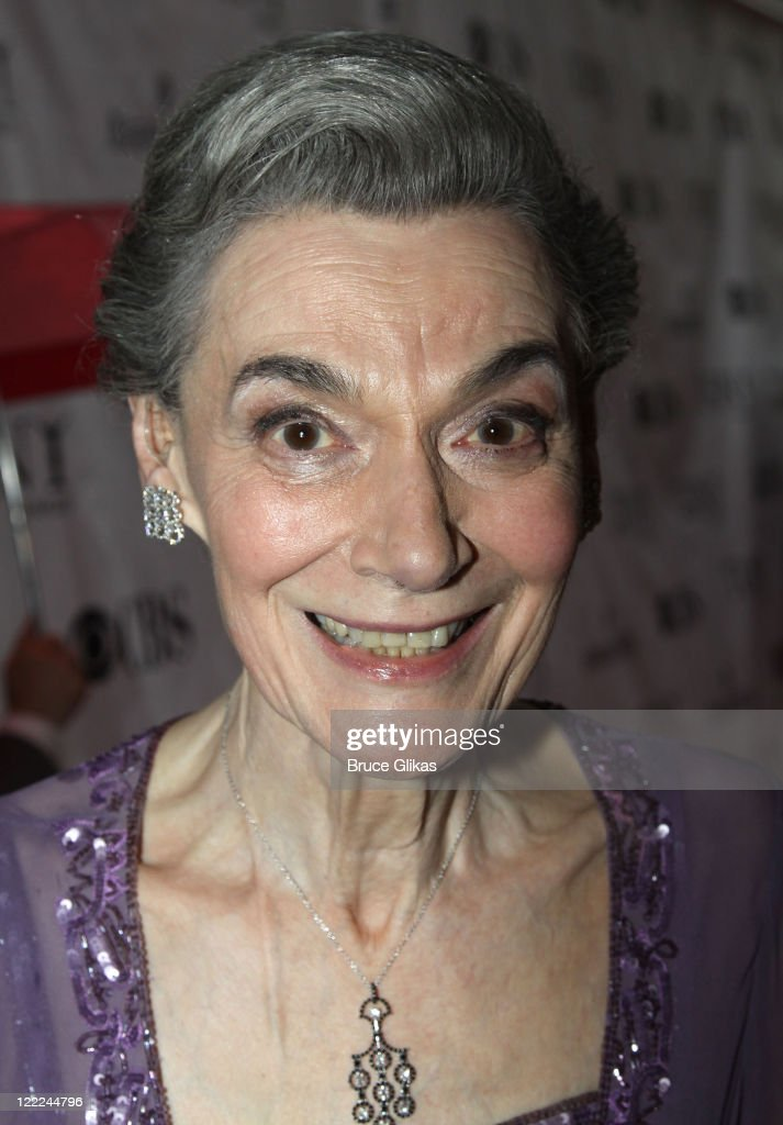 Actress Marian Seldes attends the 64th Annual Tony Awards at Radio City Music Hall on June 13, 2010 in New York City.