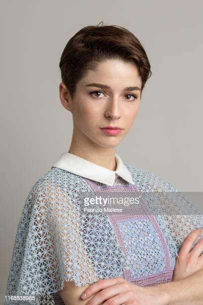 Actress Mariana Di Girolamo poses for a portrait on September 1, 2019 in Venice, Italy.