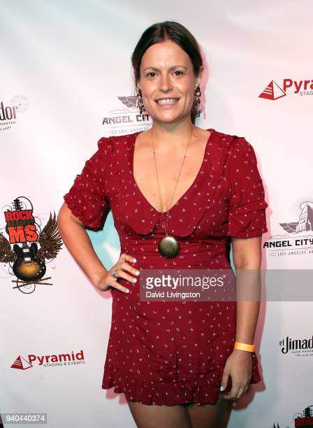Actress Marianna Palka attends the 6th Annual Rock Against MS benefit concert and award show at the Los Angeles Theatre on March 31 2018 in Los...