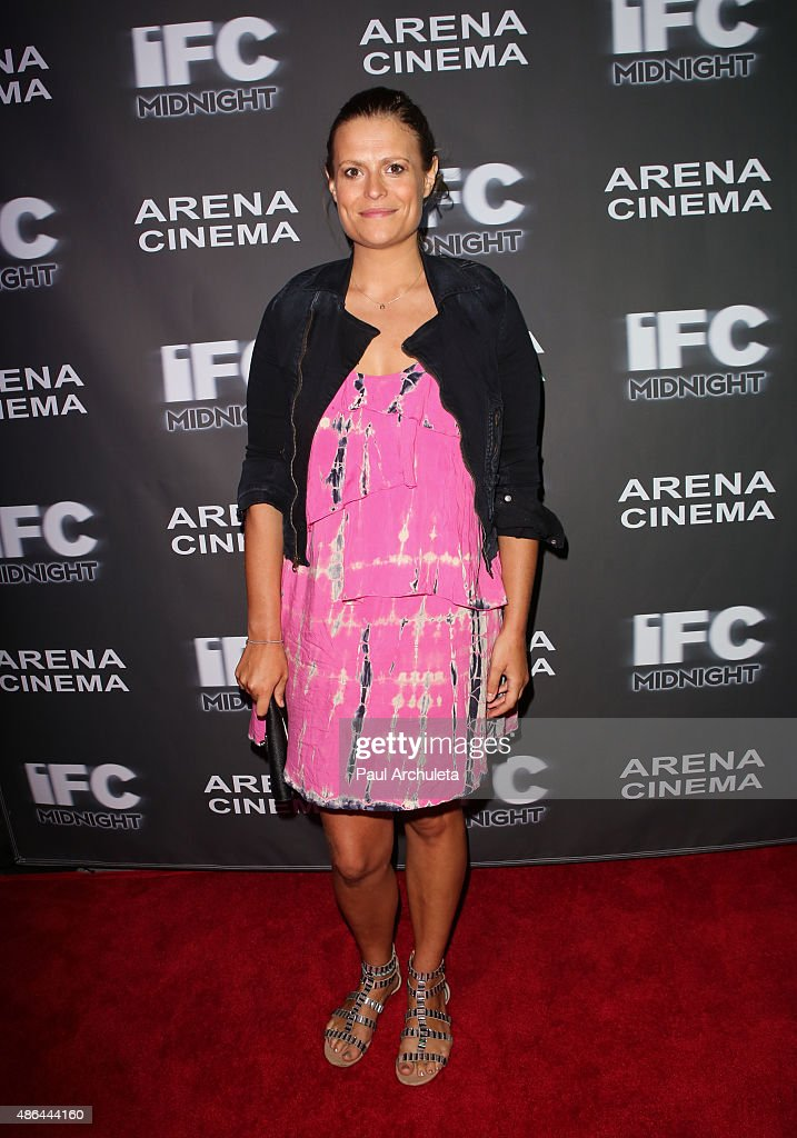 Actress Marianna Palka attends the premiere of 'Contracted: Phase II' at Arena Cinema Hollywood on September 3, 2015 in Hollywood, California.