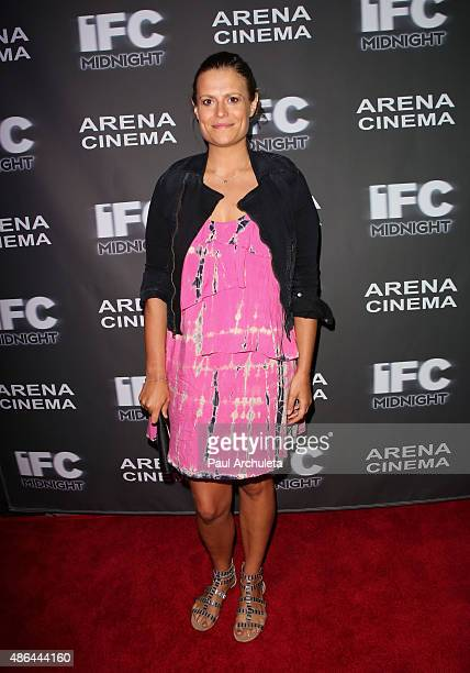 Actress Marianna Palka attends the premiere of 'Contracted Phase II' at Arena Cinema Hollywood on September 3 2015 in Hollywood California