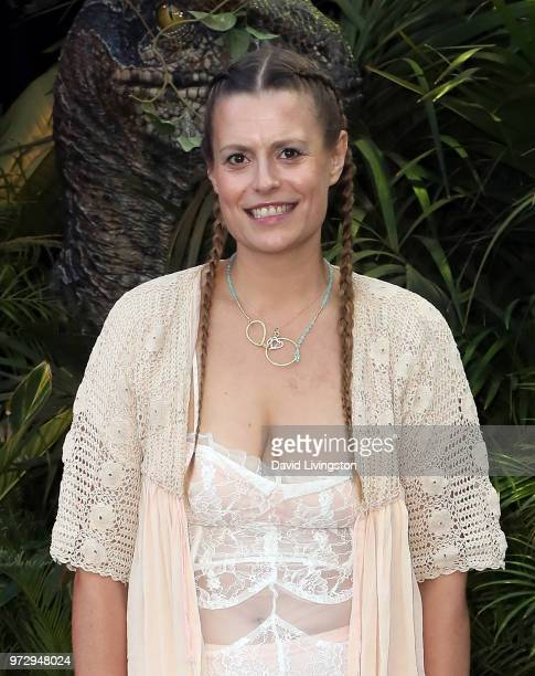 Actress Marianna Palka attends the premiere of Universal Pictures and Amblin Entertainment's Jurassic World Fallen Kingdom at Walt Disney Concert...