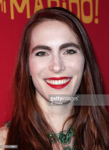 Actress Marianne Bourg attends 'HE MATADO A MI MARIDO' Los Angeles Premiere at Harmony Gold Theatre on February 26 2019 in Los Angeles California