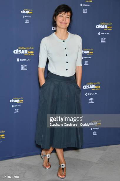 Actress Marianne Denicourt attends the 'Les Nuits En Or 2018' dinner gala at UNESCO on June 11 2018 in Paris France
