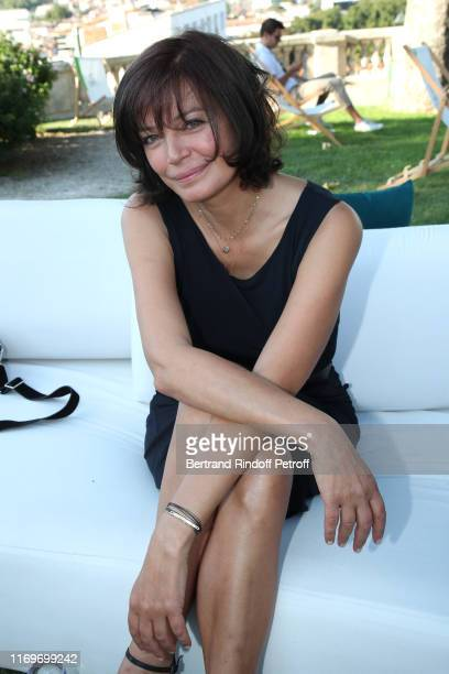 Actress Marianne Denicourt attends the Photocall of the movie La Vertu des Imponderables during the 12th Angouleme FrenchSpeaking Film Festival Day...