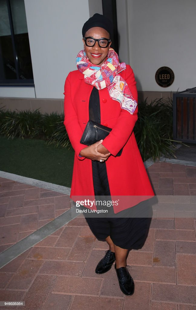 Actress Marianne Jean-Baptiste attends the opening night of KCET & Link TV's EARTH FOCUS Environmental Film Festival screening of 'Love & Bananas - An Elephant Story' at Sony Pictures Studios on April 20, 2018 in Culver City, California.