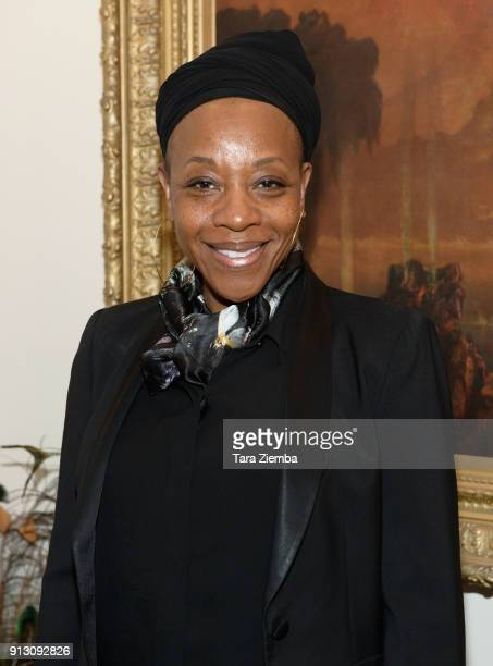 Actress Marianne JeanBaptiste attends The Secret Society Of The Sisterhood at The Masonic Lodge at Hollywood Forever on January 31 2018 in Los...