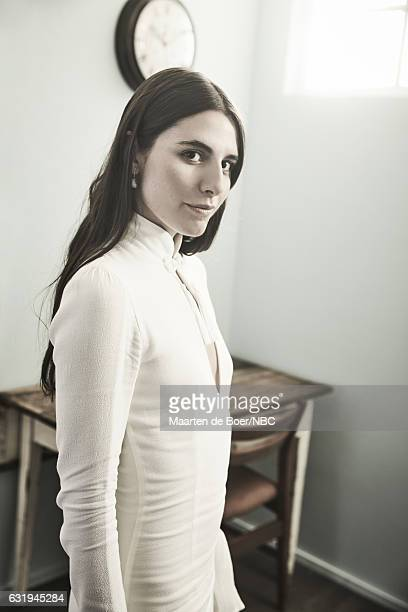 Actress Marianne Rendon of 'Imposters' poses for a portrait in the NBCUniversal Press Tour portrait studio at The Langham Huntington Pasadena on...