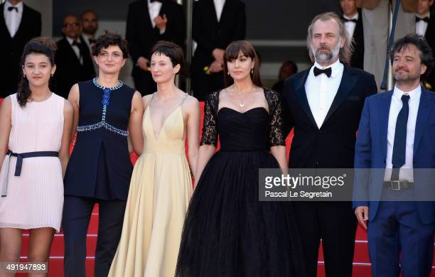 Actress MariaStella Morrow Agnese Graziani Maria Alexandra Lungu director Alice Rohrwacher actors Alba Rohrwacher Monica Bellucci Sam Louwyck and...