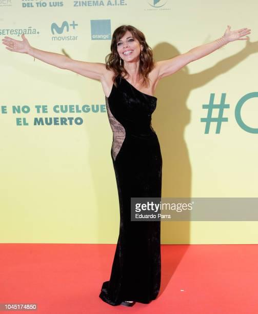 Actress Maribel Verdu attends the 'Ola de crimenes' premiere at Capitol cinema on October 3 2018 in Madrid Spain
