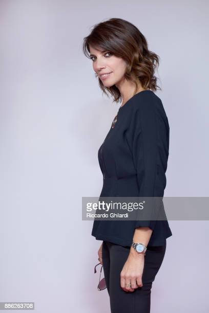 Actress Maribel Verdu poses for a portrait during the 12th Rome Film Festival on October 2017 in Rome Italy