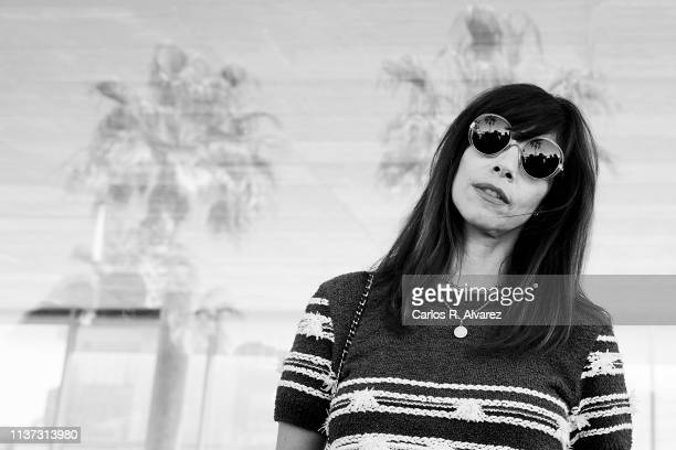 Actress Maribel Verdu poses for a portriat during the 22th Malaga Film Festival on March 21 2019 in Malaga Spain