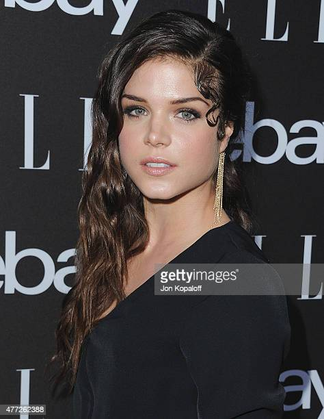 Actress Marie Avgeropoulos arrives at the 6th Annual ELLE Women In Music Celebration Presented by eBay at Boulevard3 on May 20 2015 in Hollywood...