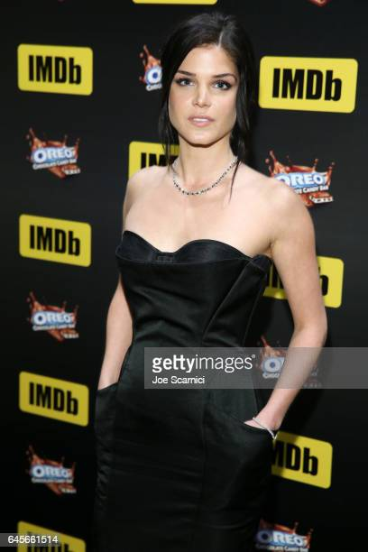 Actress Marie Avgeropoulos attends IMDb LIVE Viewing Party presented by OREO chocolate candy bar on February 26 2017 in Hollywood California