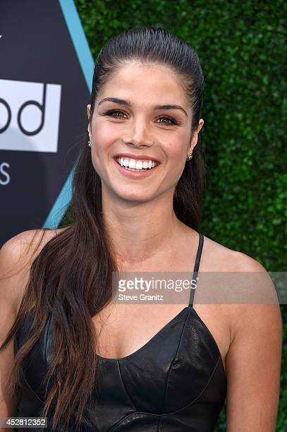Actress Marie Avgeropoulos attends the 2014 Young Hollywood Awards brought to you by Samsung Galaxy at The Wiltern on July 27 2014 in Los Angeles...