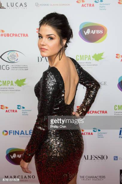 Actress Marie Avgeropoulos attends the 6th Annual UBCP/ACTRA Awards at the Vancouver Playhouse on November 18 2017 in Vancouver Canada