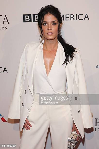 Actress Marie Avgeropoulos attends The BAFTA Tea Party at Four Seasons Hotel Los Angeles at Beverly Hills on January 7 2017 in Los Angeles California