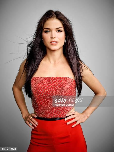 Actress Marie Avgeropoulos from 'The 100' is photographed for Entertainment Weekly Magazine on July 22 2016 at Comic Con in the Hard Rock Hotel in...