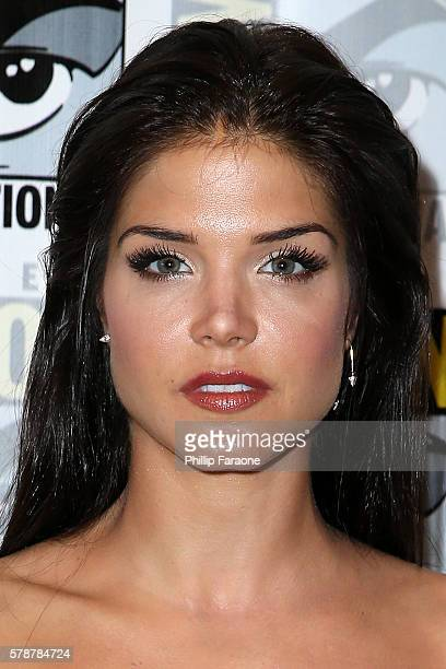 Actress Marie Avgeropoulos of The 100 attends ComicCon International 2016 on July 22 2016 in San Diego California
