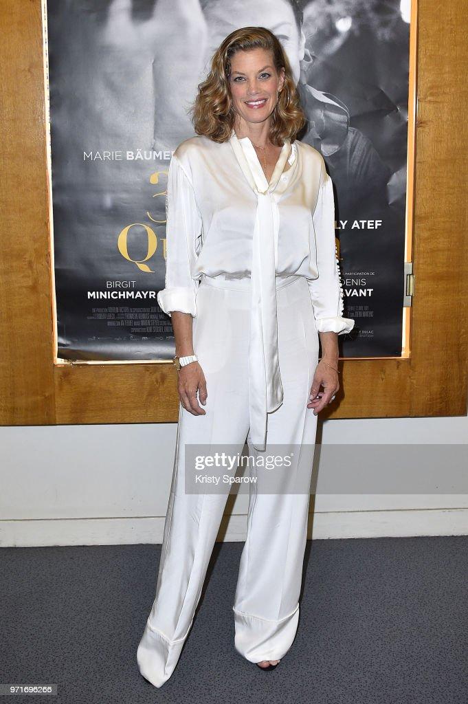 """""""3 Jours A Quiberon"""" Paris Premiere At Cinema L'Arlequin"""