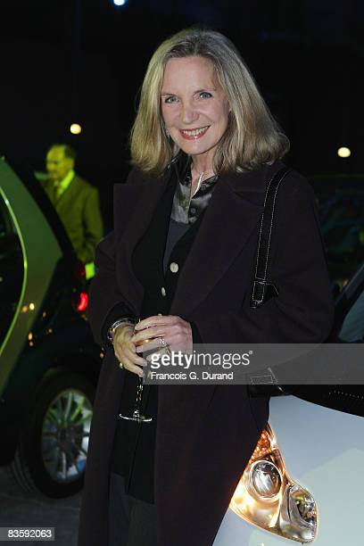 Actress Marie Christine Adam attends the 10 years party of the Smart as a new Hermes designed Smart Fortwo is presented at the Grand Palais on...