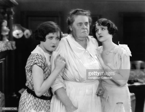 Actress Marie Dressler Sally O'Neil and Gertrude Olmstead in a scene from the movie 'The Callahans and the Murphys'