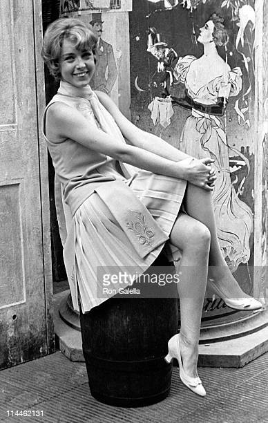 Actress Marie Dubois attends an exclusive photo session on October 1 1968 in Rome Italy
