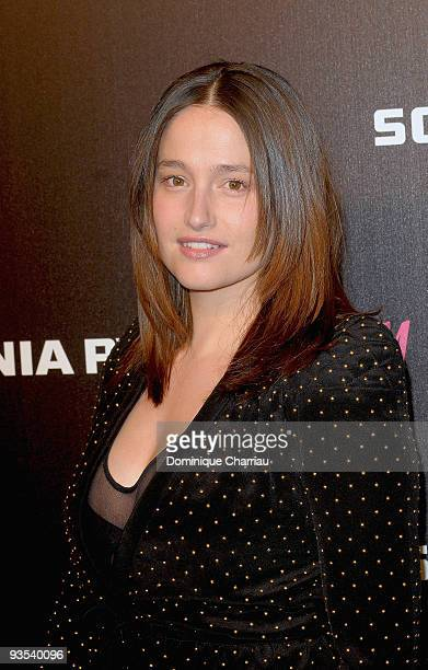 Actress Marie Gillain attends Sonia Rykiel and HM underwear collection launch at Grand Palais on December 1 2009 in Paris France