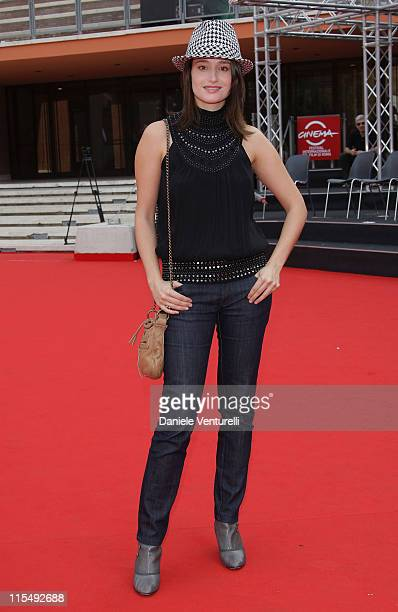 Actress Marie Gillain attends the Magic Premiere during the 3rd Rome International Film Festival held at the Auditorium Parco della Musica on October...